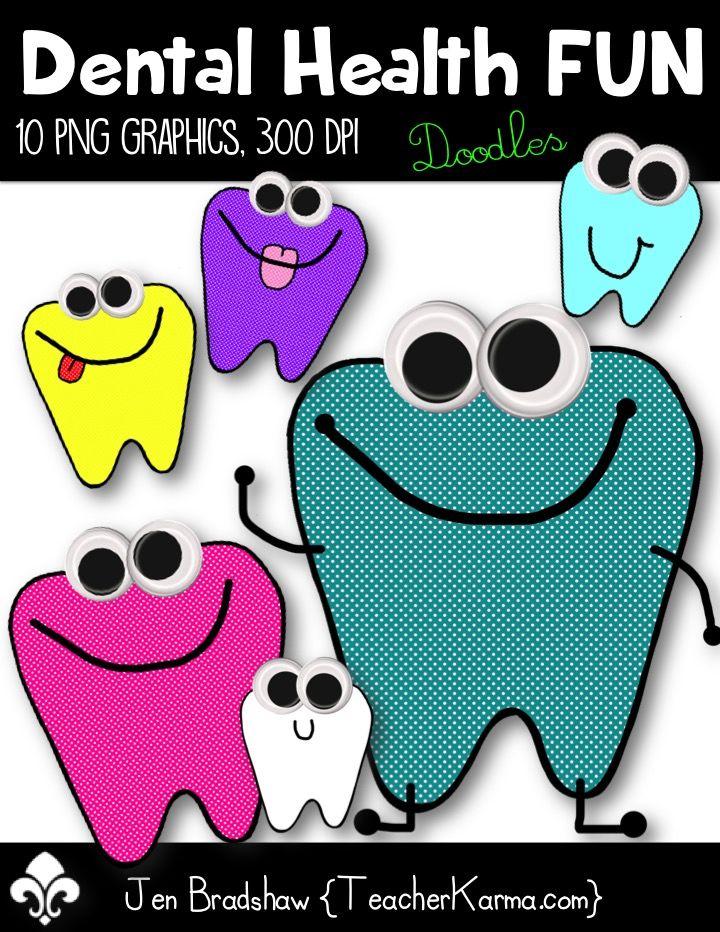 Free Clip Art For Dental Health Month