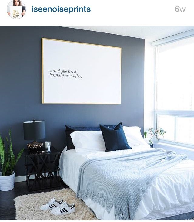 The Most Beautiful Pins We Saw in July | Dark bedroom walls ...
