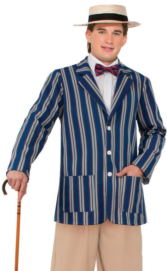 if you are dressing in a herb overkill costume this halloween then this boater jacket will make you look just like him pair it with a purple shirt and a - Halloween Costumes That Make You Look Skinny