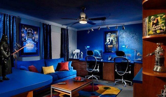 47 Impressive Video Game Room Decoration Suggestions Diseno De