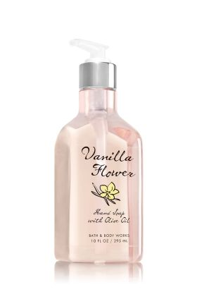 Vanilla Flower Hand Soap With Olive Oil Bath Body Works
