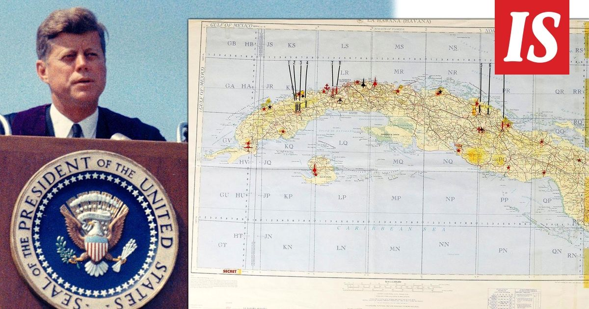 Bostonissa Tulee Huutokaupattavaksi Vanha Kuuban Kartta Jolla