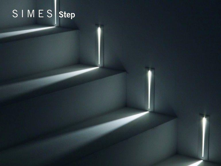 Segnapasso led step collezione step by simes lighting idee per