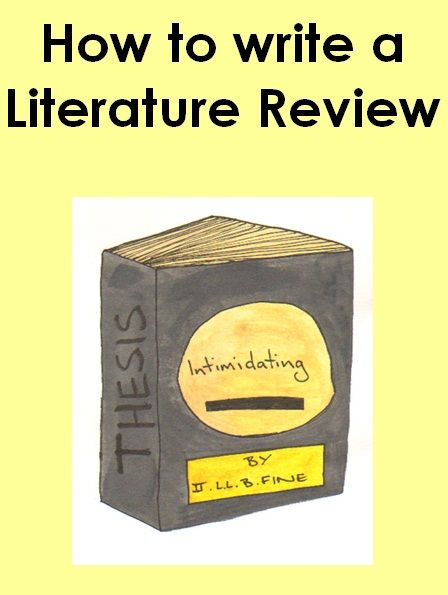 How To Write A Literature Review  Academic Writing
