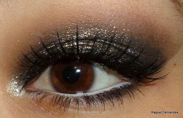 Pretinho básico. Pretty dark eyeshadow.