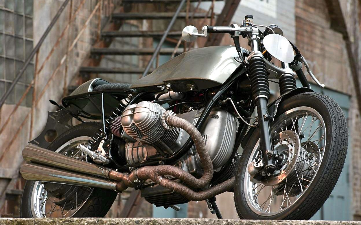 R80 Earl Grey by Urban Motors