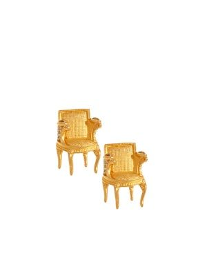 Chair Rings Ha Chair Gold Furniture Karl Lagerfeld
