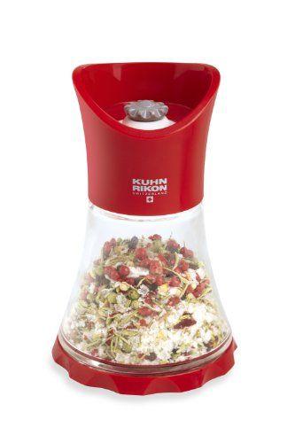 Kuhn Rikon Vase Grinder, Red - http://spicegrinder.biz/kuhn-rikon-vase-grinder-red/