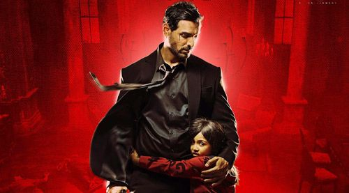 John Abraham protects 7 year old Diya from hardcore action in Rocky Handsome