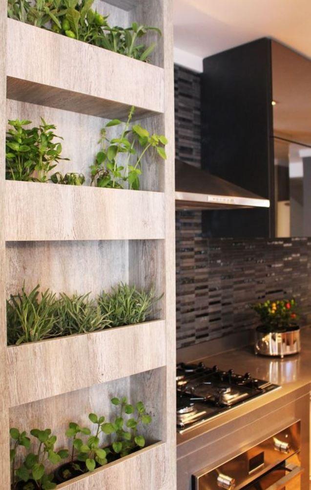 herb living wall herb garden in kitchen indoor herb on indoor herb garden diy apartments living walls id=25168