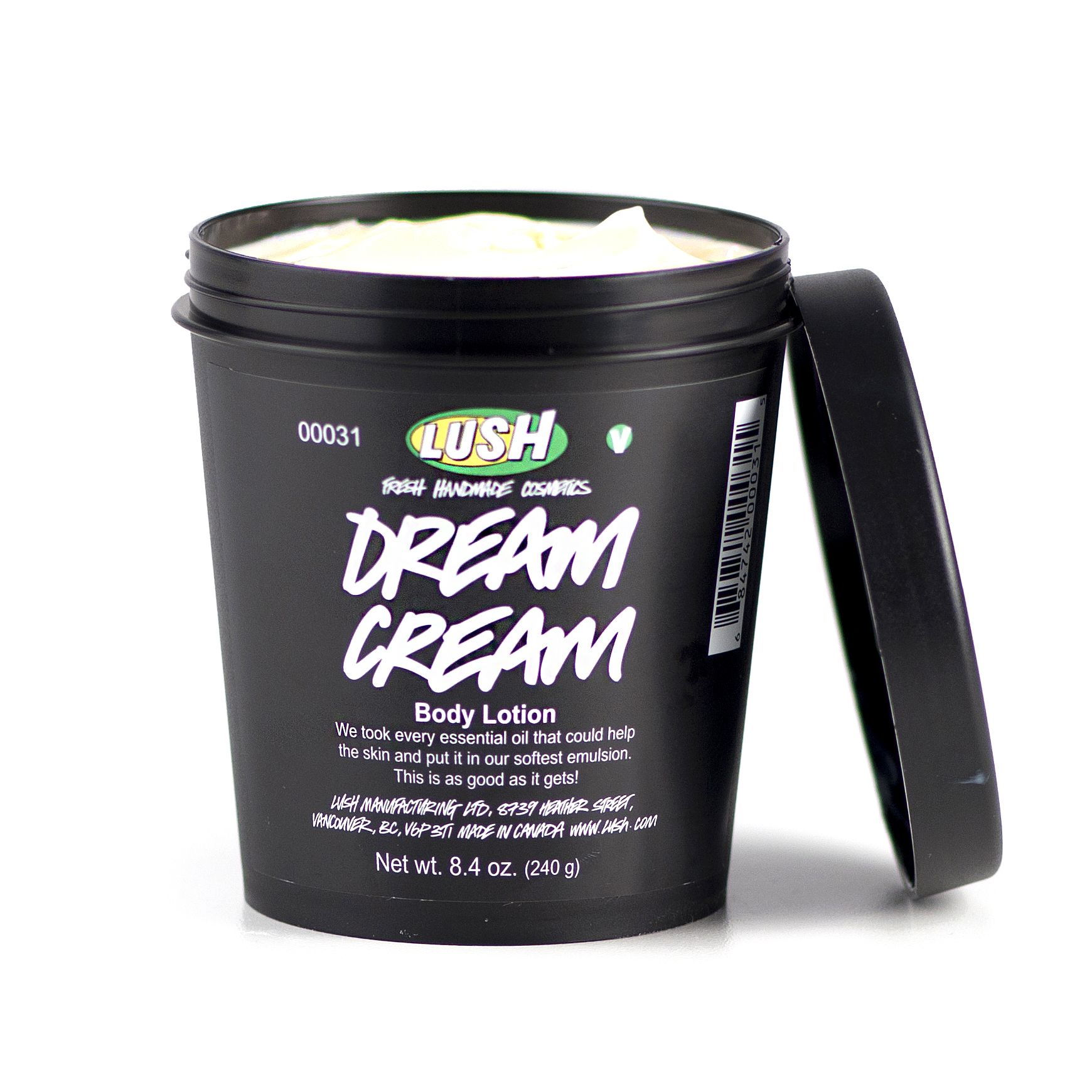 Dream Cream Lush Dream Cream Body Cream Lush Cosmetics