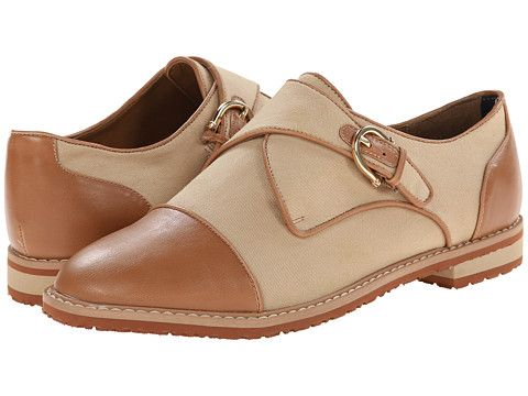 Tommy Hilfiger Womens Hayven Sand Military Twill - Oxfords