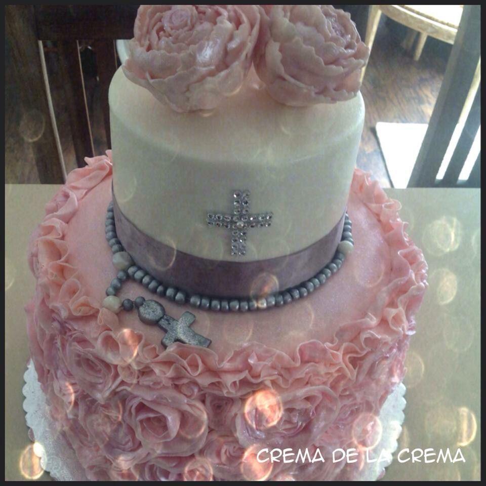 Comunión cake...crema de la crema designe