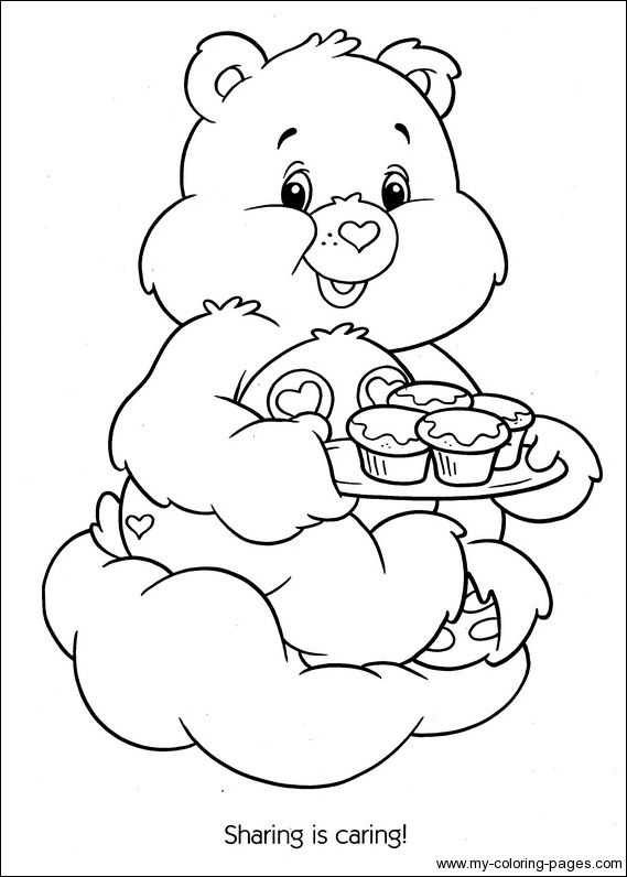 Care Bears Coloring057 care