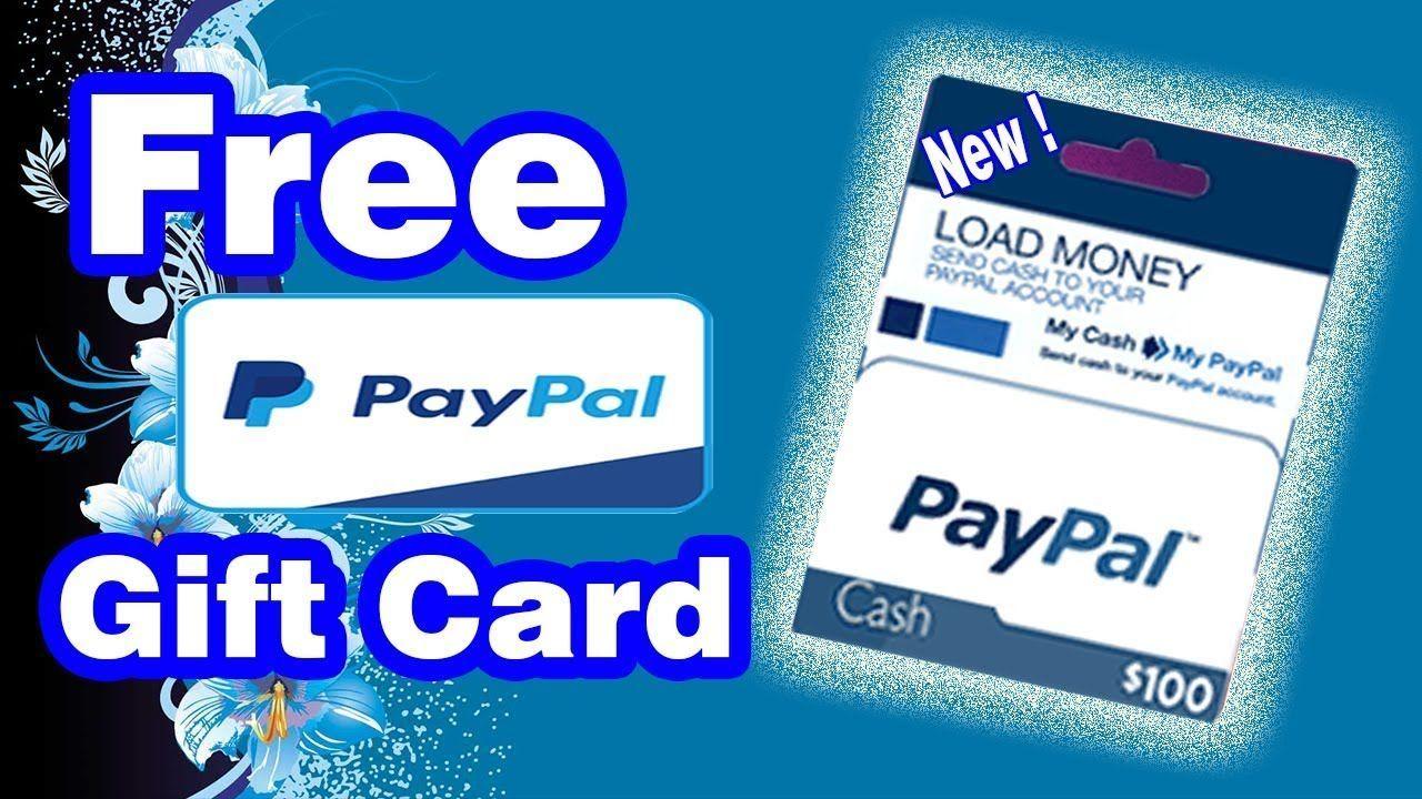 Free paypal gift card free paypal gift card just click