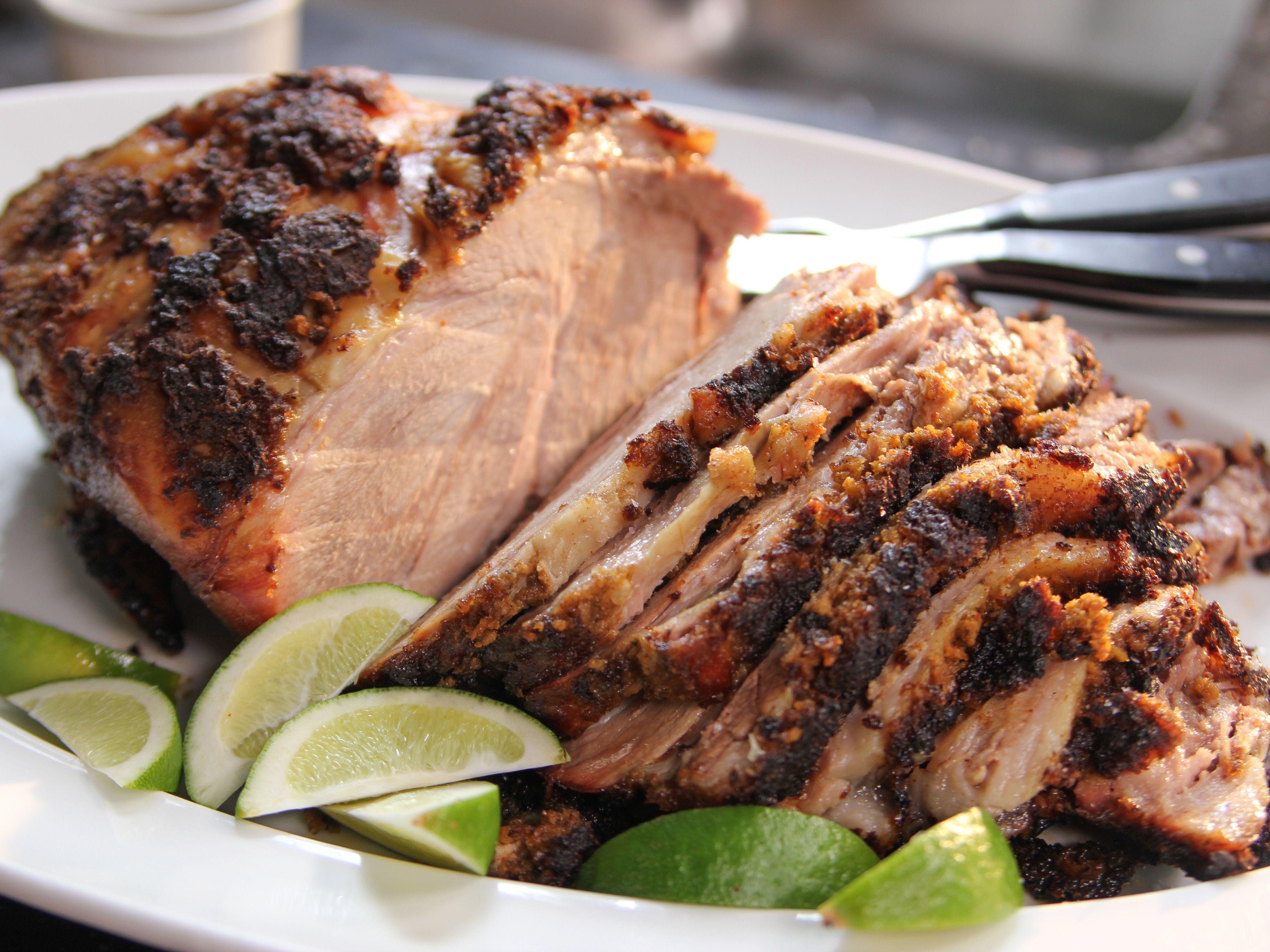 Slow Roasted Spiced Pork Recipe Food Network Recipes Pork Recipes Recipes