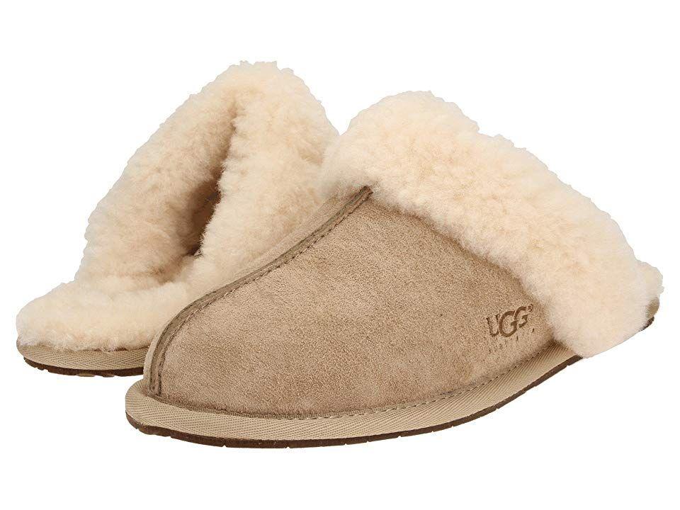 871144bd001 UGG Scuffette II Water-Resistant Slipper (Sand (Suede)) Women's ...