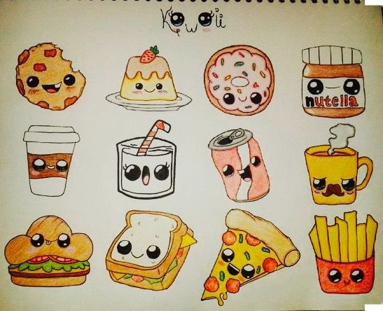 Pingl par ann reut sur picture pinterest dessin for Decoration cuisine kawaii