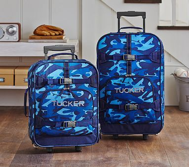 Mackenzie Blue Camo Luggage #pbkids | For brodsterams! | Pinterest ...