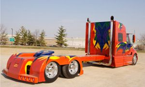"""Image detail for -To call """"Mayhem"""" and """"Bad Habit"""" eye-popping show trucks is an understatement – a BIG one. """"Sure, we went to extremes, but we wanted to show off the ..."""