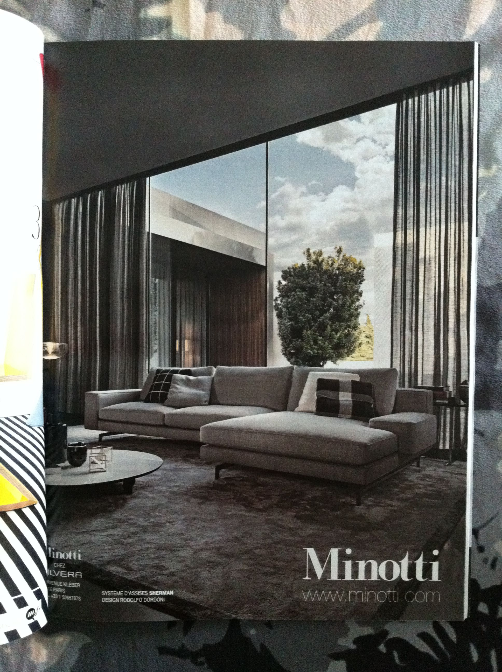Minotti, style masculin, lounge, chic | Design di interni ...