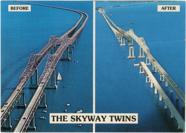 The sunshine skyway bridge the creepy and the miraculous for Skyway fishing pier state park