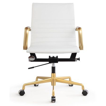 Home With Images Modern Office Chair White Leather