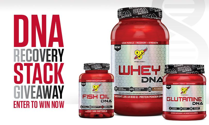 Check Out This Dna Recovery Stack Giveaway By Bsn Products I Love