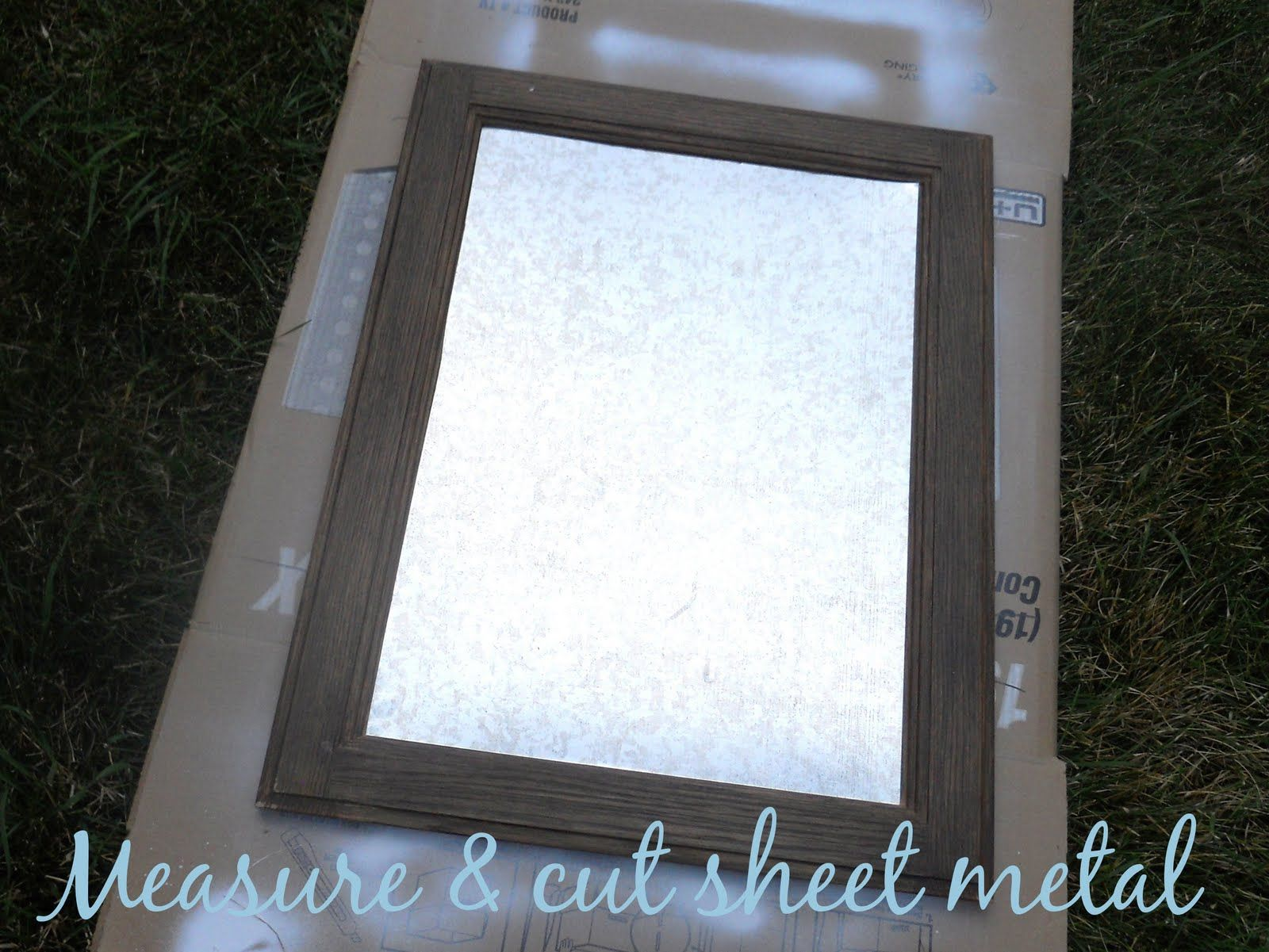 diy how to turn a cabinet door into a magnetic memo board metal diy how to turn a cabinet door into a magnetic memo board