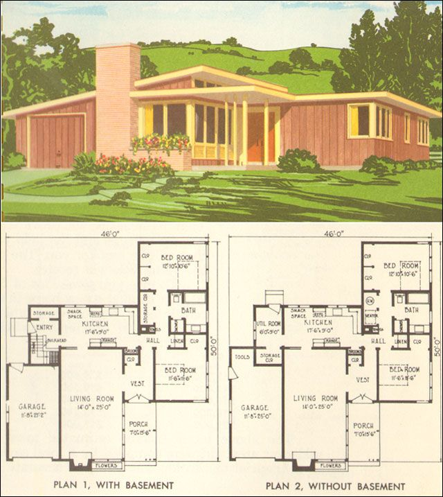 Pin By Can Encin On Astro Mid Century Modern House Plans Craftsman Style House Plans Mid Century Modern House