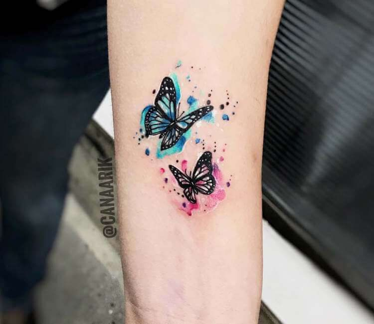 Butterflies tattoo by Cana Arik Tattoos | Post 23046