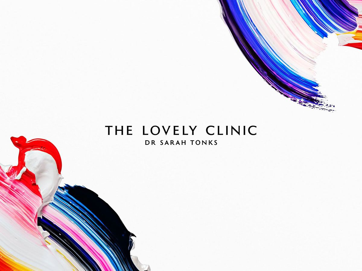 The Lovely Clinic Identity Designed Clinic Aesthetic Clinic Identity Design