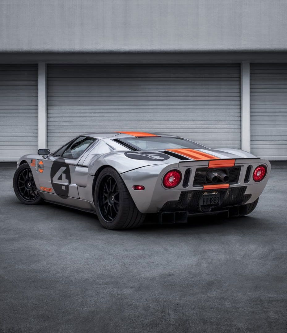 Merkury 4 Ford Gt Rear Angle View Ford Gt Ford Hot Cars