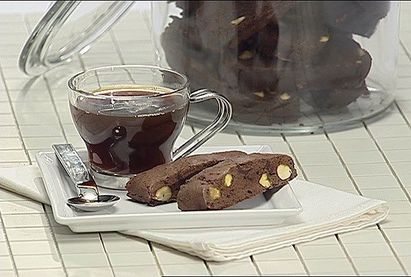 Flourless Chocolate Biscotti