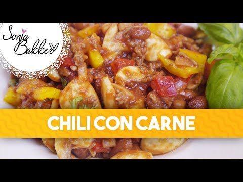 CHILI CON CARNE | Sonja Bakker recept