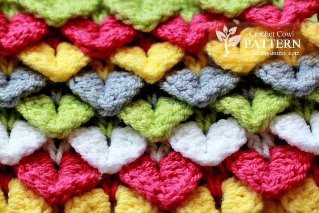 I love these little hearts, love the color changes in the crocodile ...