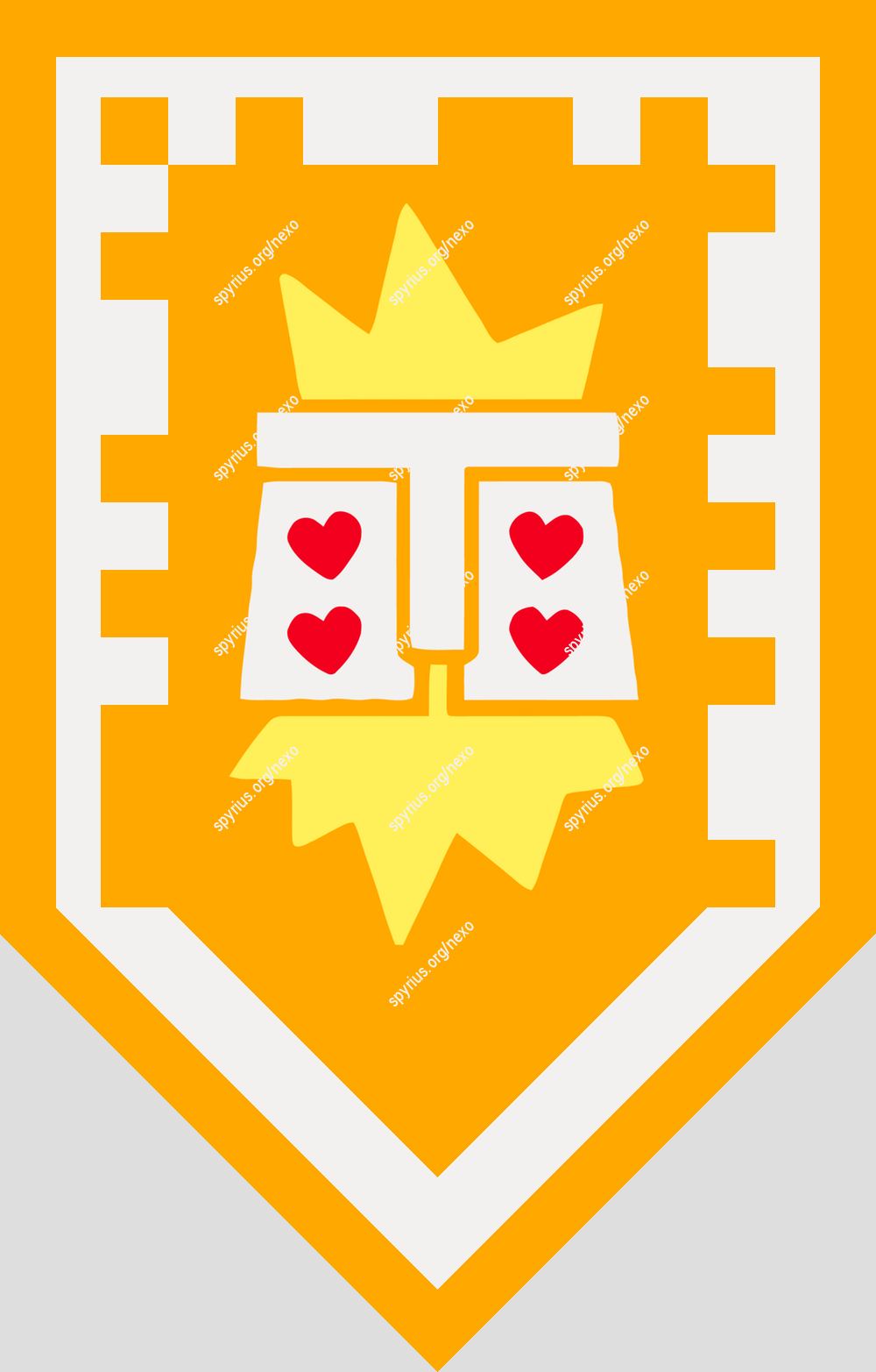 Lego Nexo Knights Power Axl Under Woe Knight Shield Nexo Knights Shields Knight