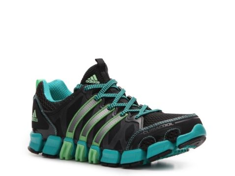 brand new ccefb 262b3 Adidas Womens Clima Ride Trail Running Shoe in greyblackgreenteal.