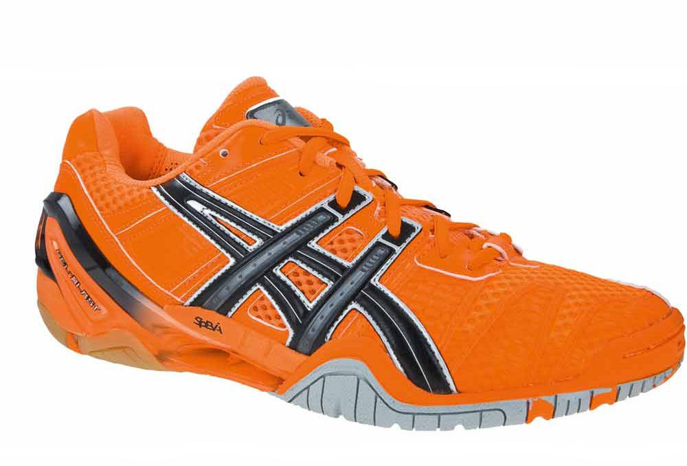 Asics Gel Blade 4 in orange | Handball schuhe, Handball und