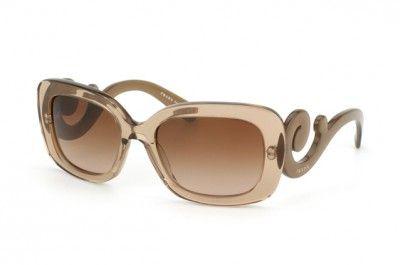 6e06a451d0825 Óculos Prada Women s PR 27OS Minimal Baroque KAL1Z1 Shiny Brown Transparent  Fashion Sunglasses  Oculos  Prada