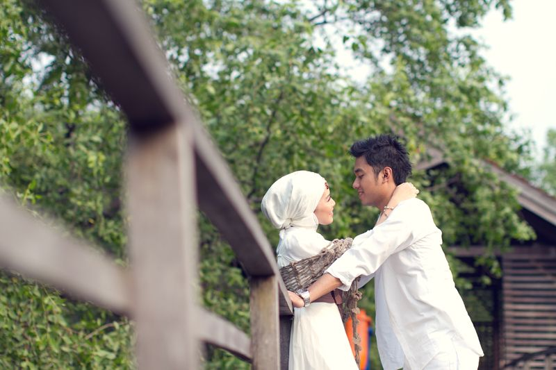 Foto Prewedding Muslim Outdoor Unik Sealkazz Blog