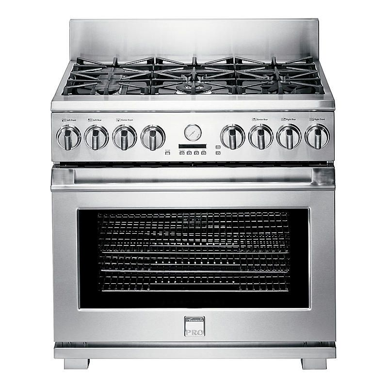 Kenmore Pro 79623 36 Freestanding Dual Fuel Range Sears Outlet