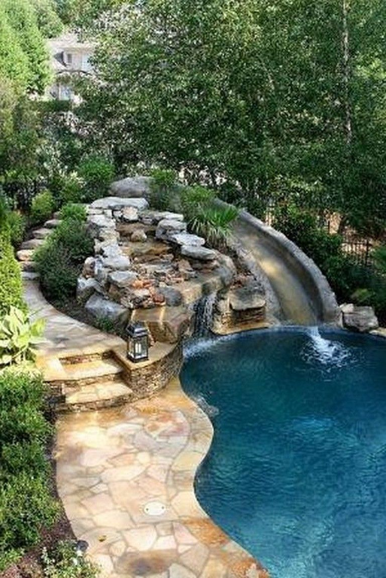 34 Amazing Landscaping Design Ideas For Pool Area Page 16 Of 35 Dream Backyard Pool Dream Backyard Backyard Pool Landscaping