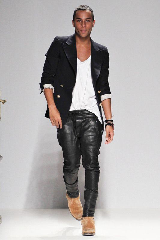 9ce424ddee4aac balmain designer olivier rousteing Black Fashion Designers