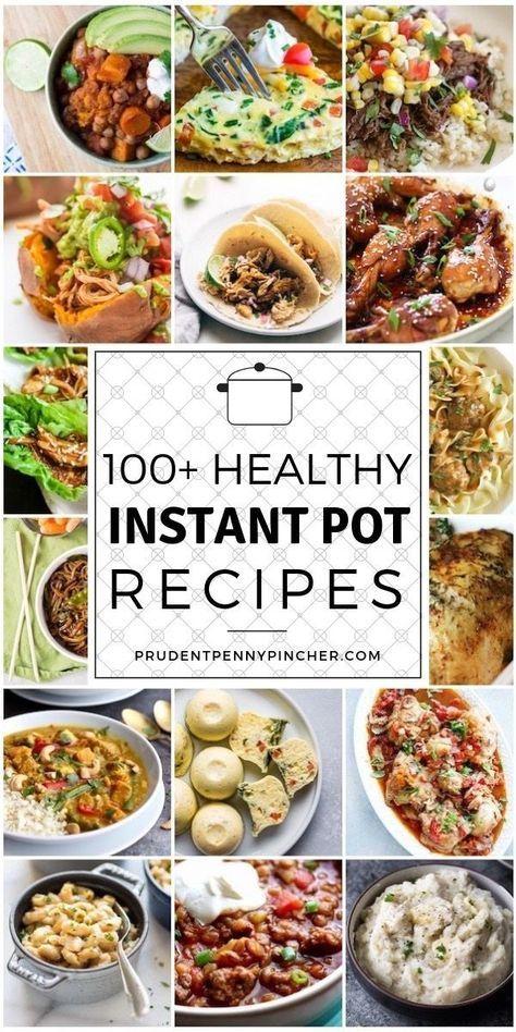 100 recettes de pot instantanées saines