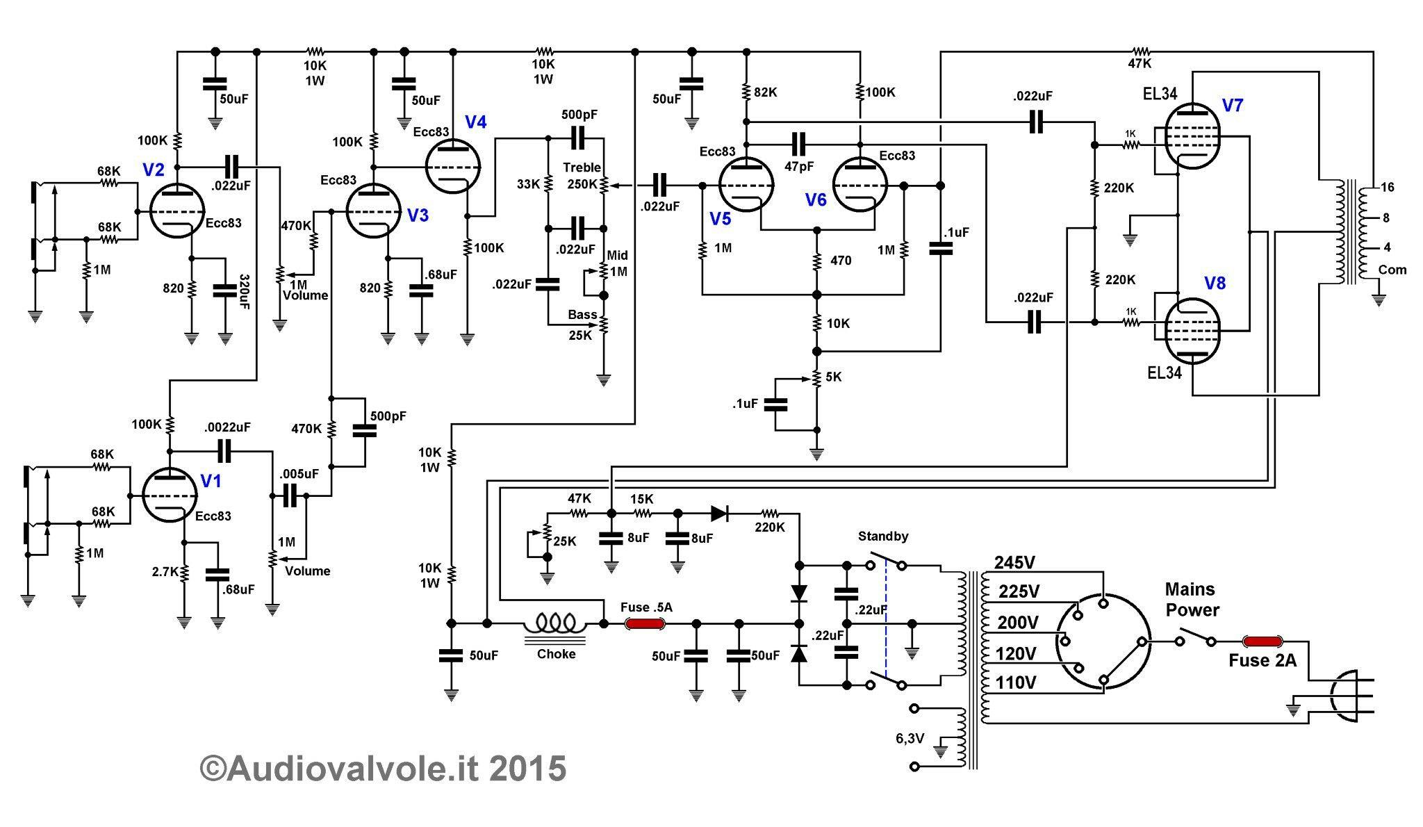 small resolution of el34 pin diagram