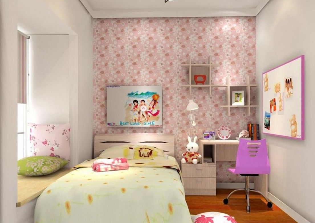 Wallpaper for Girls Bedroom - Favorite Interior Paint Colors Check ...