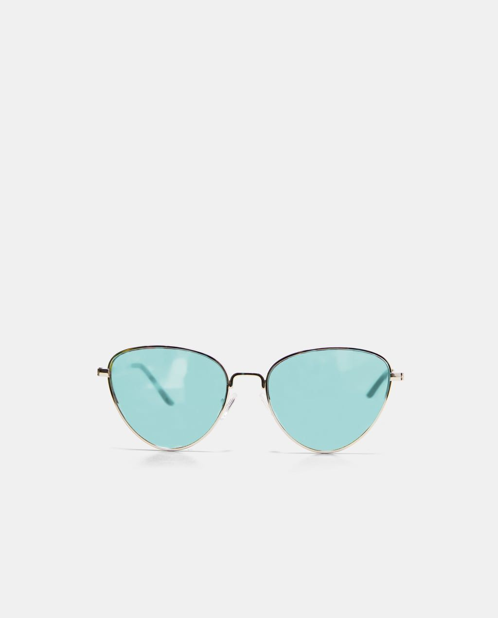 4f5322be2c Image 1 of METALLIC SUNGLASSES WITH COLOURED LENSES from Zara Accesorios,  Cristales, Accesorios Para