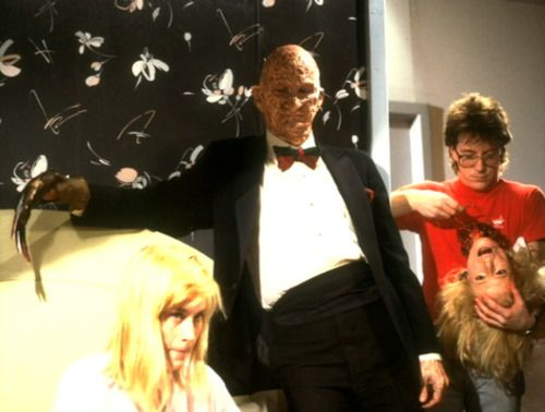 Robert Englund Patricia Arquette Behind The Scenes Of A