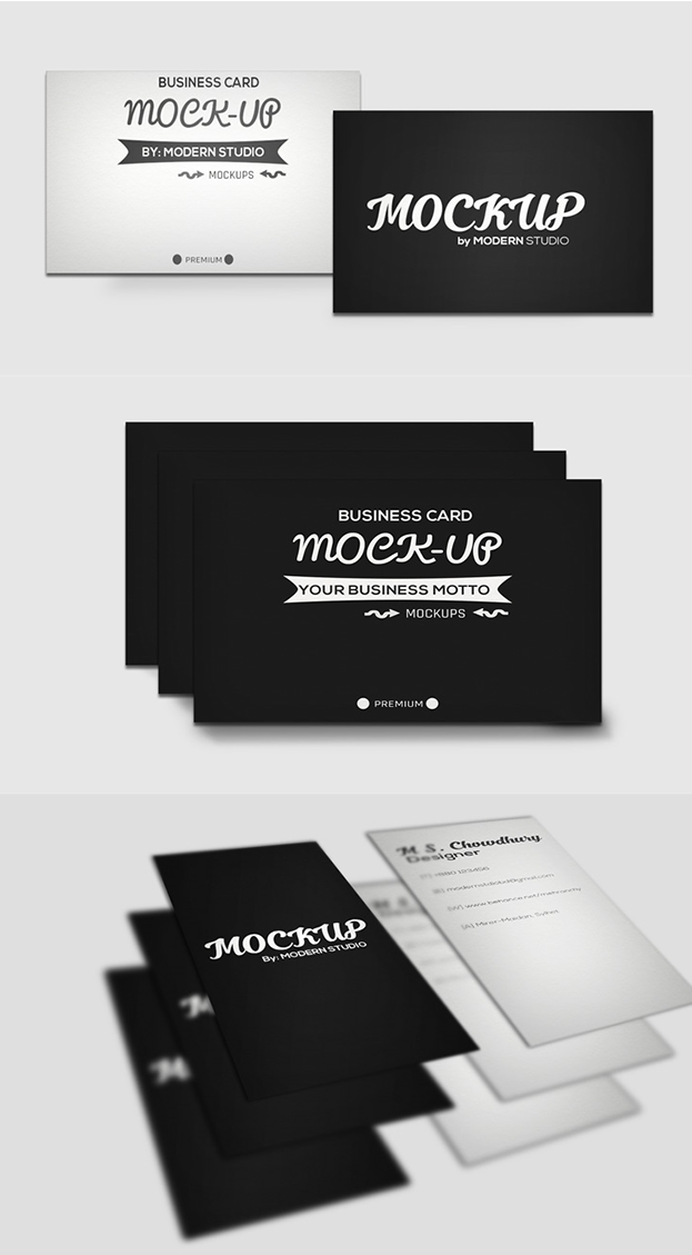 50 free premium business card mockup psd download reheart Choice Image